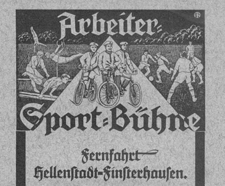 Arbeiter Sportbühne