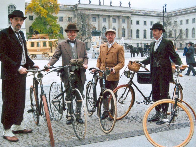 Historische Fahrräder Berlin