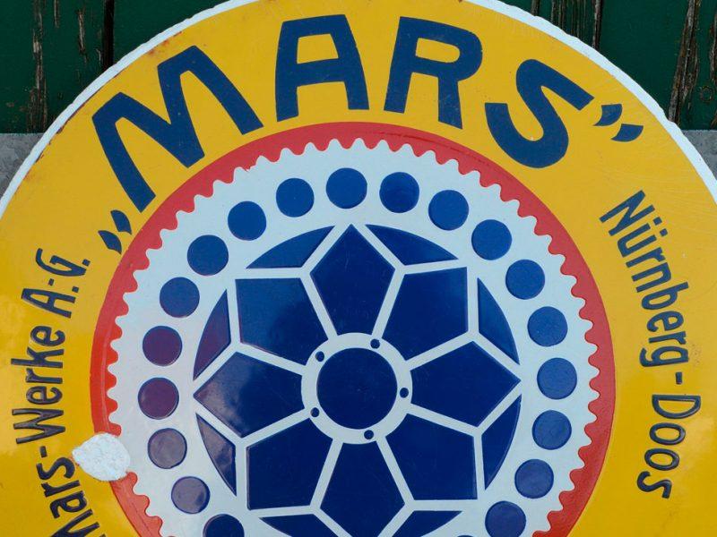 Mars Emailschild
