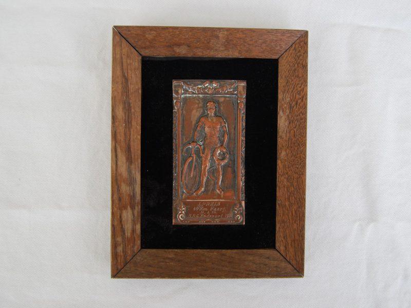 Kupferplatte, 1. Preis, 1911