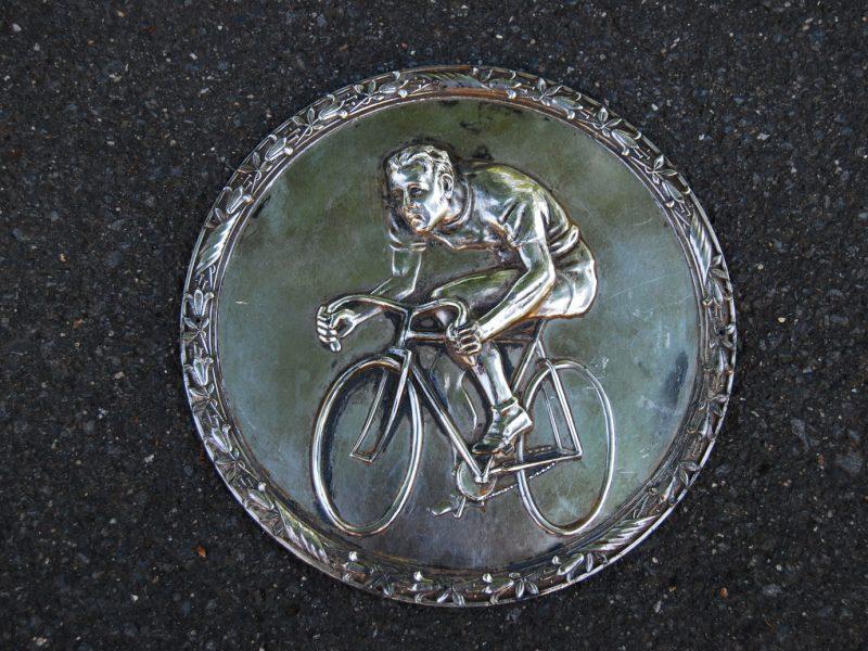 Silber-Plakette, ca. 1915