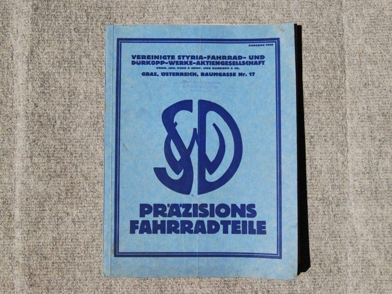 Katalog Styria Dürkopp-Werke, 1930