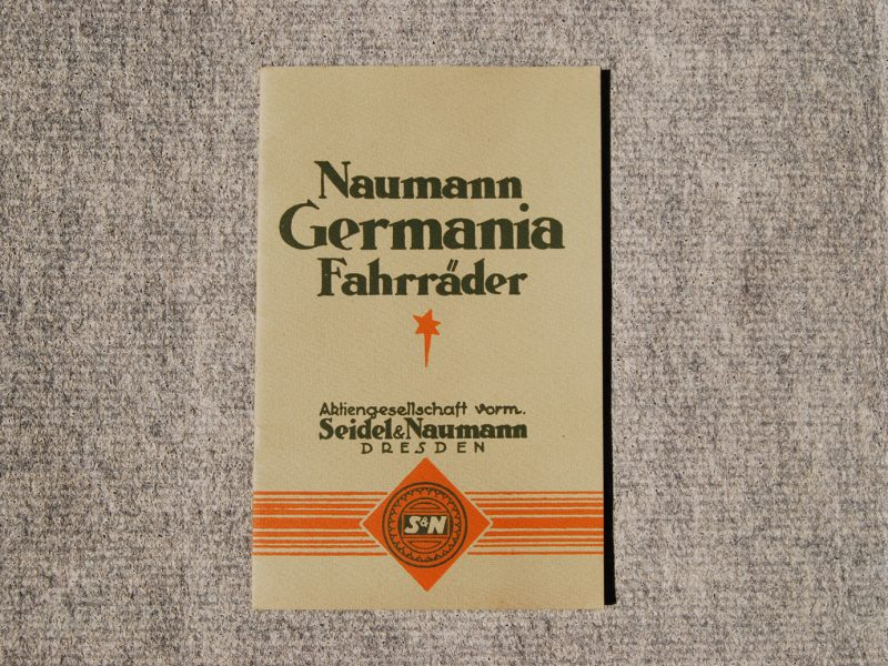 Katalog Naumann Fahrräder, ca. 1927