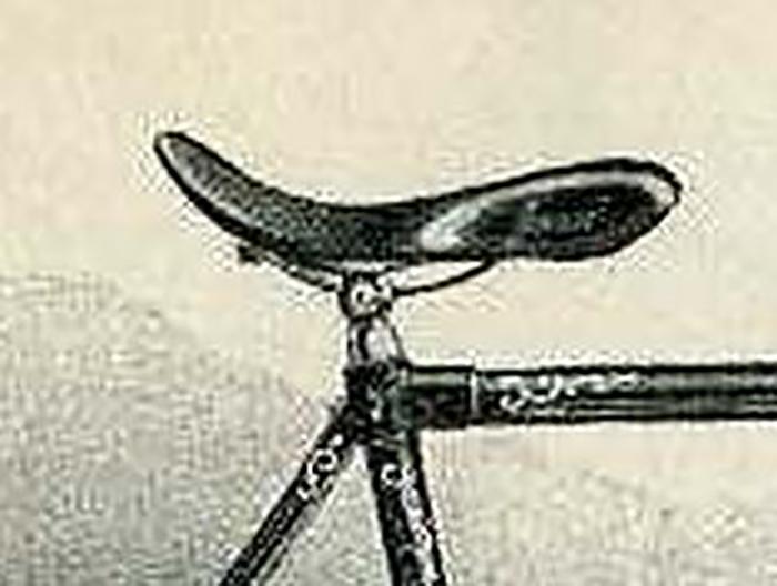 Sportsattel um 1900