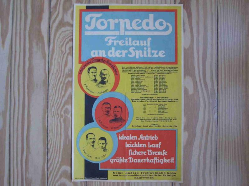 Torpedo Freilauf Plakat