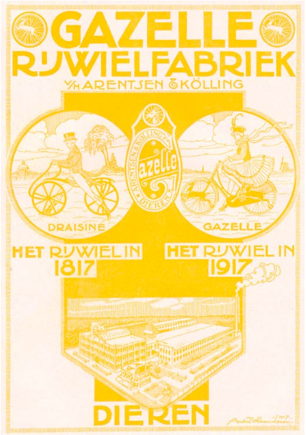 125 Jahre Gazelle KS64