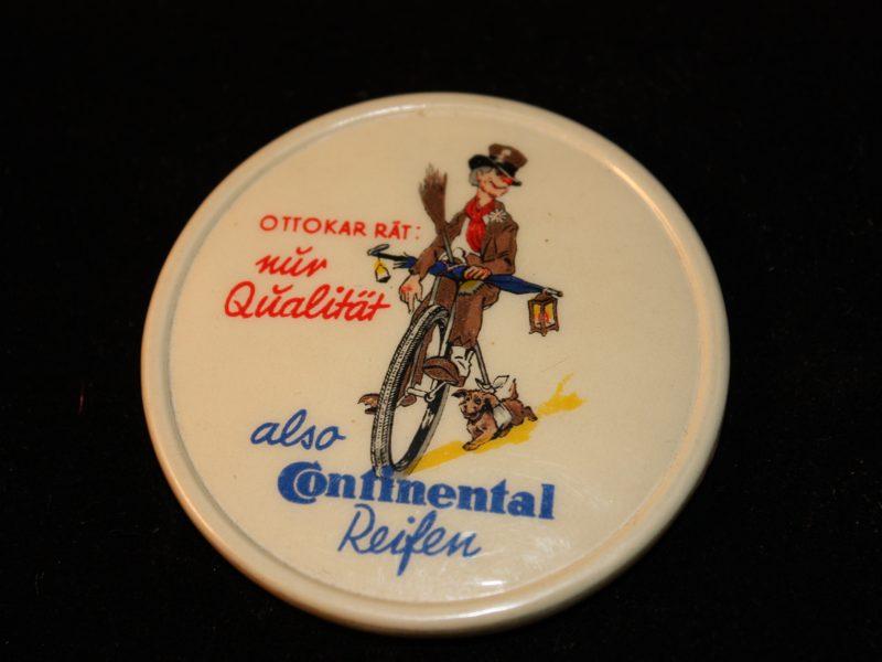 Continental Werbespiegel mit Ottokar-Motiv