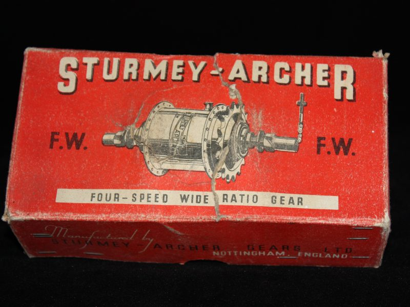 Sturmey-Archer 4-Gang Schaltnabe
