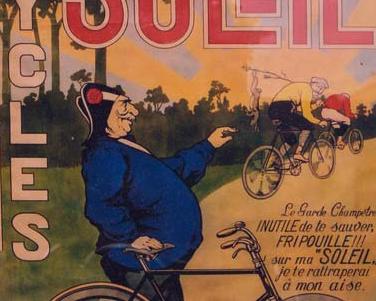 "Plakat ""CYCLES SOLEIL"""