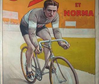 """Plakat """"Cycles LEA et Norma"""""""