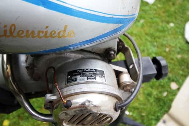 """Fahrrad Hilfsmotor """"Eilenriede"""" Bj. 52"""