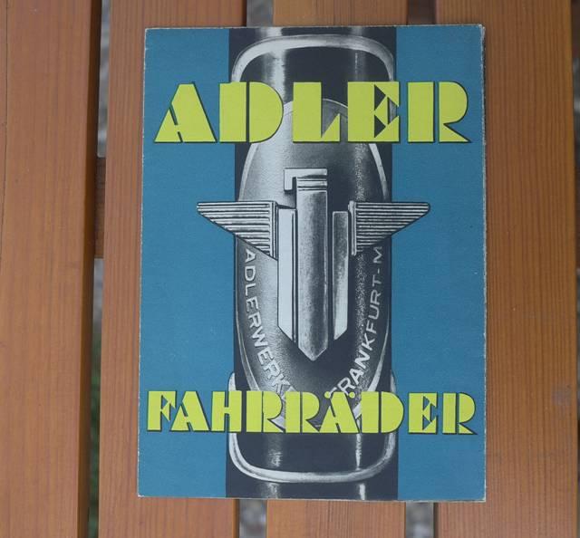 ADLER Gesamtprospekt 1937