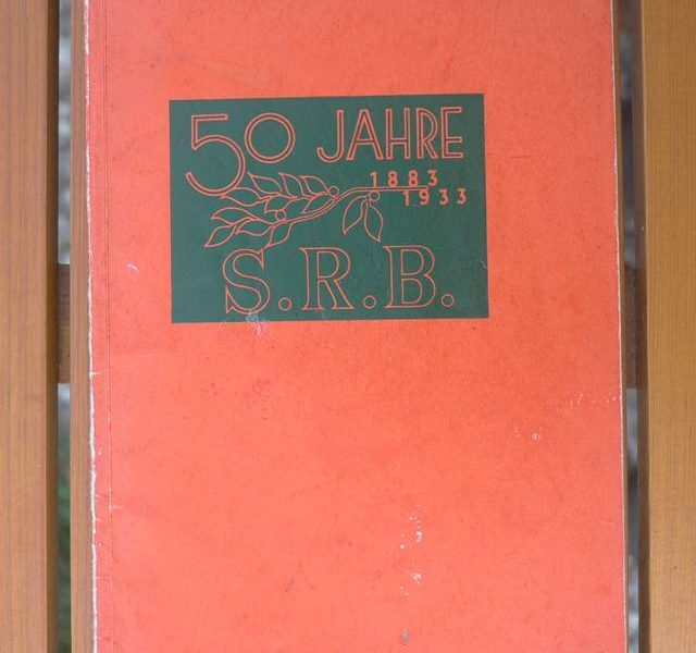 Jubiläumsschrift 50 Jahre S.R.B.
