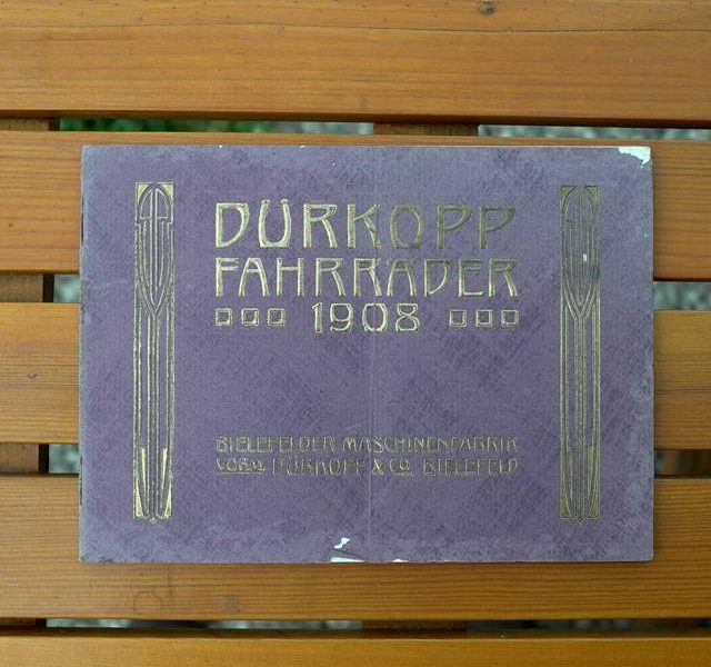 Dürkopp Katalog 1908