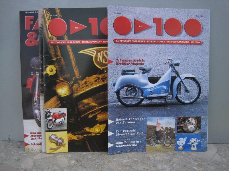 Fahrrad- und Mopedzeitschriften 1997 -2005
