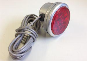 Rundes ULO- Rücklicht, 1950er, neu mit Originalkabel