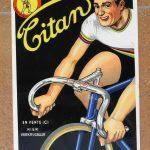 TITAN Werbeschild, 50/60er Jahre, 315 x 220 mm, sehr gut erhalten