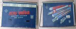 UNION Speichenkasten, Blech, zum gepflegten Verwahren der gängigsten Speichenlängen