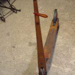 Kinderroller STEIFF , orig. mit Winker und Ständer, guter Originalzustand. Der beste Holzroller seiner Zeit