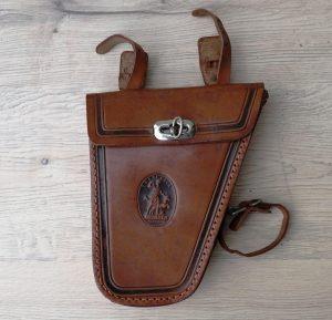 Assmann Leder Herren-Werkzeugtasche, sehr schön gearbeitet, sehr gut erhalten