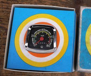 DDR Fahrrad-Tachometer, 28 Zoll, alte Neuware aus den 70ern mit allem Zubehör