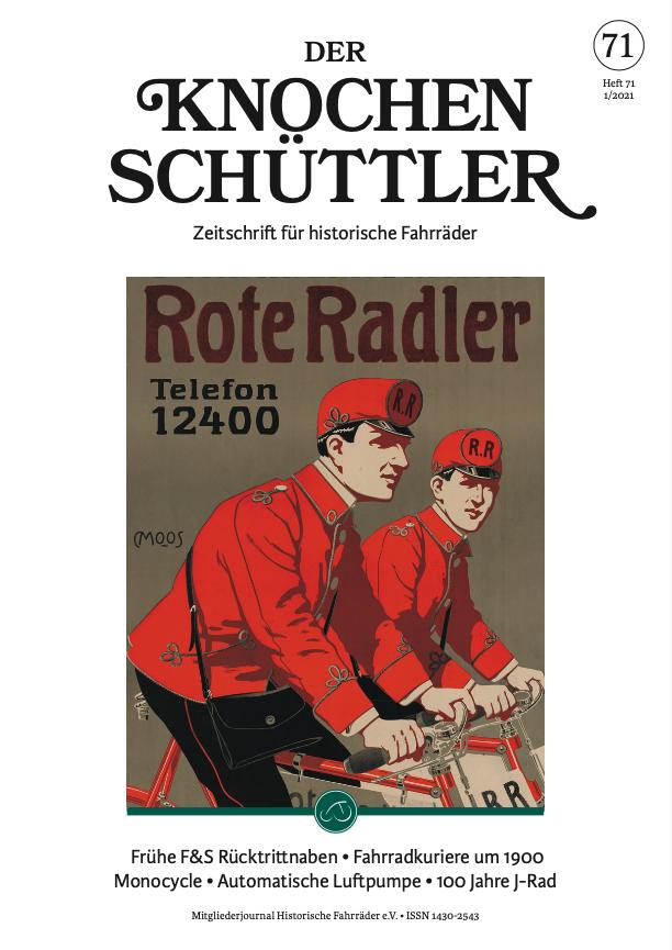 Der Knochenschüttler No. 71 Cover
