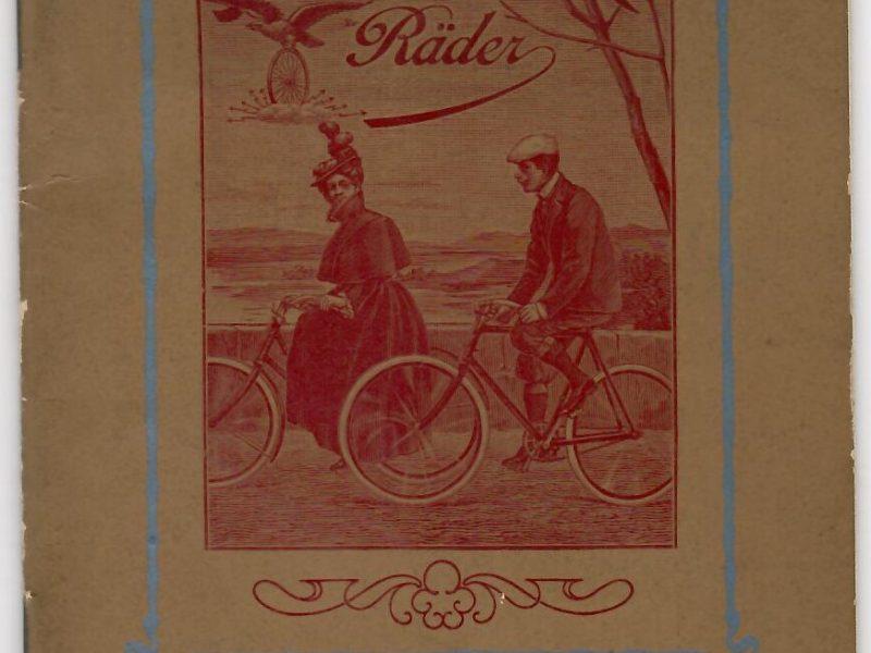 Adler Katalog 1903, 48 Seiten, Zustand 2