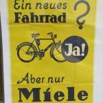 Lot 109: Plakat MIELE, 85 x 60, 1930er - Ausrufpreis: 100,00€
