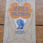 Lot 24: Katalog Germania-Fahrräder Seidel & Naumann 1904, 32 S. - Ausrufpreis: 10,00€