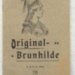 Lot 27: Katalog Brunhilde-Fahrräder Magdeburg, 27 S., um 1910 - Ausrufpreis: 10,00€