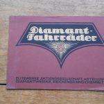 Lot 29: Katalog Diamant Fahrräder 1922 - Ausrufpreis: 10,00€