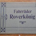 Lot 42: Katalog Roverkönig Hannover 20 S., 1912 - Ausrufpreis: 10,00€