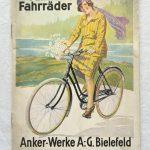 Lot 57: Katalog Anker Fahrräder 1928, 20 S. - Ausrufpreis: 10,00€