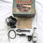 Lot 58: Bosch Lichtanlage in blauem Karton Lampe + Dynamo Neuware - Ausrufpreis: 10,00€