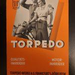 Lot 60: Kalenderpappe Torpedo-Fahrräder, 1930er - Ausrufpreis: 10,00€