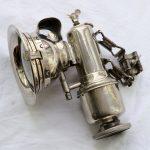 Lot 74: Karbidlaterne Lohmann um 1925, neuwertig - Ausrufpreis: 10,00€