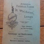 Lot 76: Katalog Armimius, Lemgo um 1896 - Ausrufpreis: 10,00€