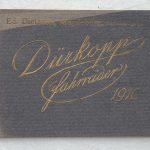 Lot 77: Katalog Dürkopp Fahrräder Händler Magdeburg 1910er - Ausrufpreis: 10,00€