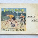Lot 78: Katalog Tachos Fahrräder Stuttgart, 1907, 33 S., Zustand .3- - Ausrufpreis: 10,00€