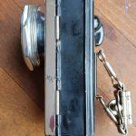 Lot 94: Pertrix Batterielampe mit Schwebe, 30er Jahre, Chromblende - Ausrufpreis: 1,00€