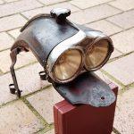 Lot 95: MELAS Cobra Scheinwerfer, 1930er Jahre Designklassiker, unrestauriert - Ausrufpreis: 1,00€
